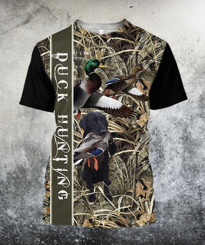 96cdcb4a8c58 ... 3D All Over Printed Duck Hunting Hoodie ...
