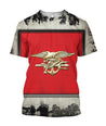 All Over Printed Military Insignia Shirts - Jumanteez - Apparel