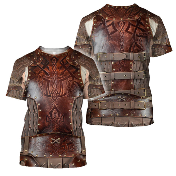 3D All Over Printed Viking Shirts