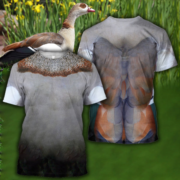 All Over Printed Blue-necked duck Shirts - Jumanteez - Apparel