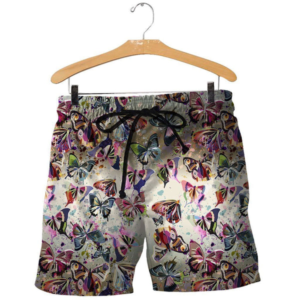 3D All Over Printed Packed Butterflies Shirts and Shorts