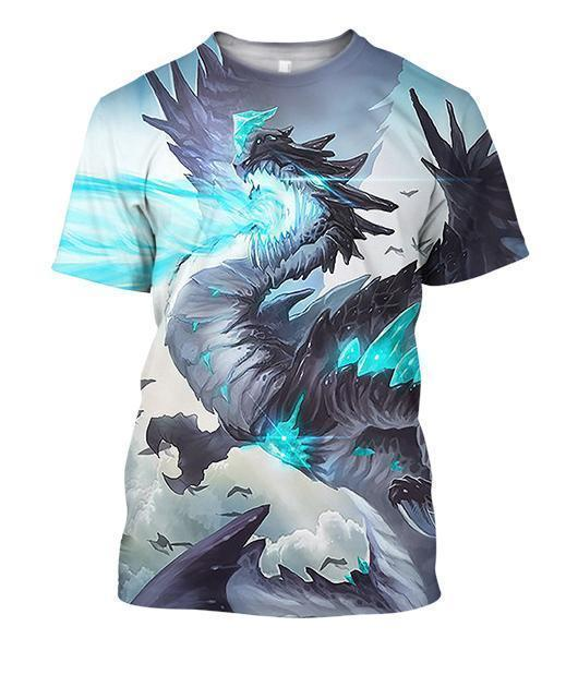 All Over Print Crystals Dragon