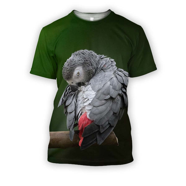 All Over Printed Parrots Shirts H400