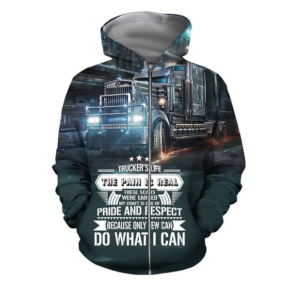 3D All Over Printed Truck Do What I Can Shirts And Shorts