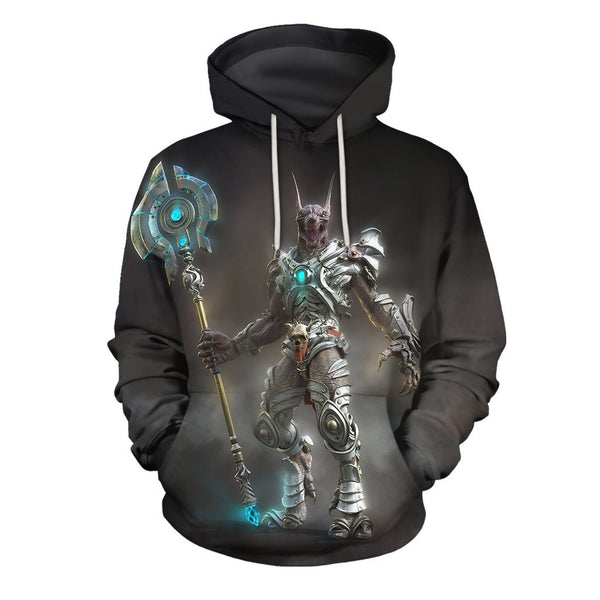 3D All Over Print Egypt God Hoodie
