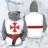 3D All Over Printed Knights Templar Tops