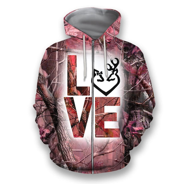 3D All Over Printed LOVE Country Girls Shirts