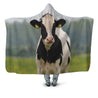 3D All Over Printed Dutch Cow Hoodie Blanket