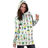 Beautiful Cactus Hoodie Dress