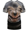 3D All Over Print Sea Dog Face Shirt