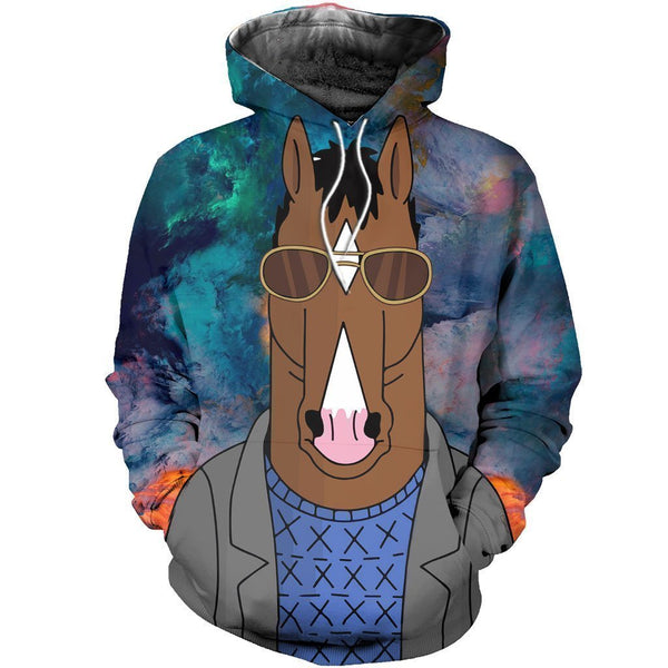 3D ALL OVER PRINTED A COOL HORSEMAN SHIRTS