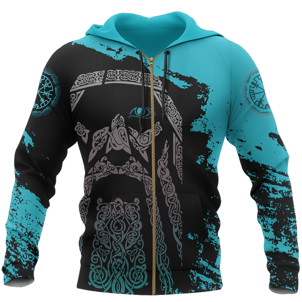 Viking Odin - Wotan Special Blue Pullover