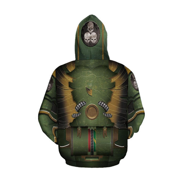 3D All Over Aztec Warrior Mexican Hoodie