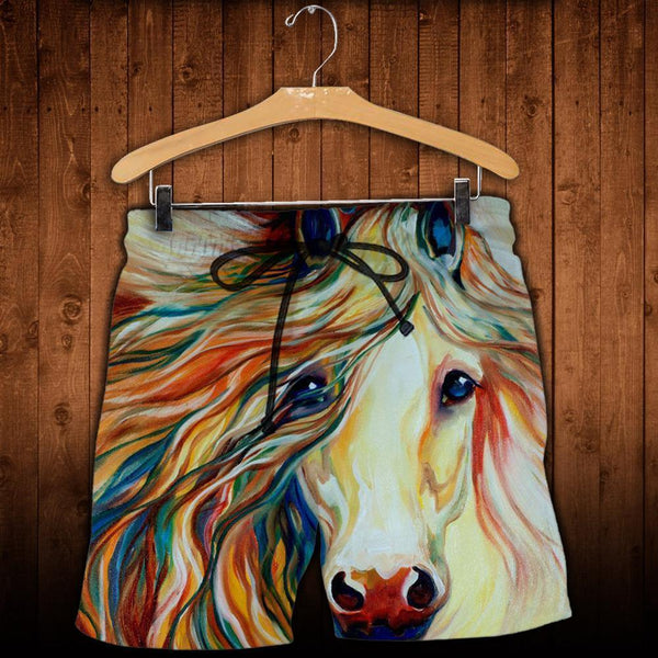 3D All Over Printed Beautiful Art Horse Clothes