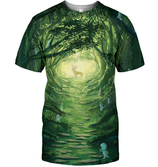 3D All Over Print Spirit 05 Shirt