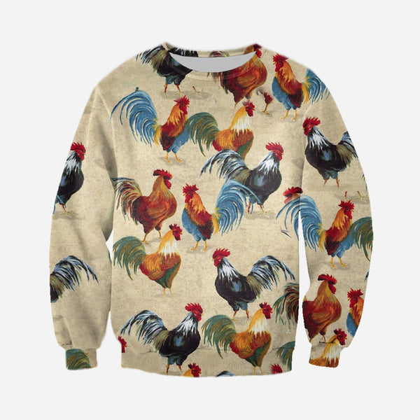 3D All Over Printed Chicken Farming Clothes