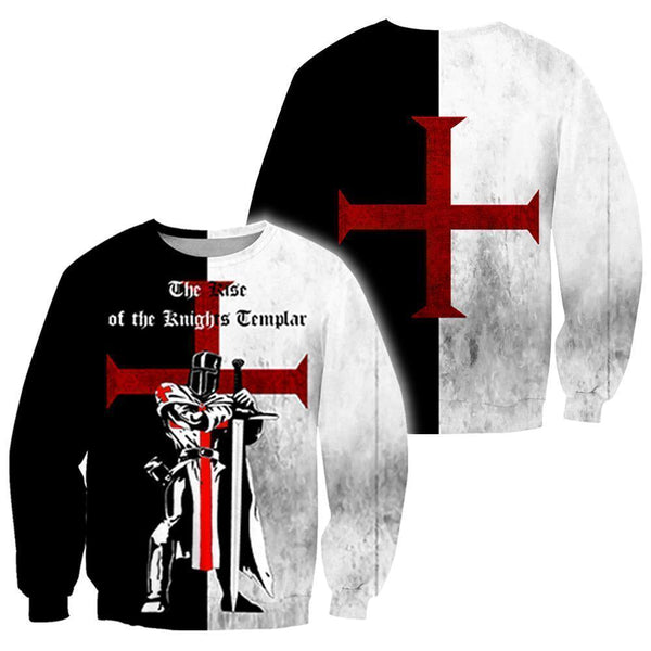3D All Over Printed The Rise of the Knights Templar  Shirts