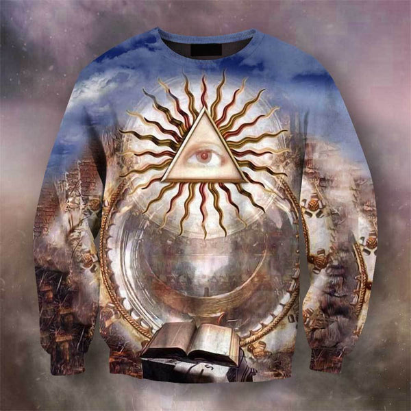 3D All Over Print Regular Masons Hoodie