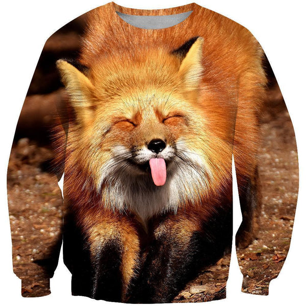 3D All Over Printed Fox Art Shirts and Shorts