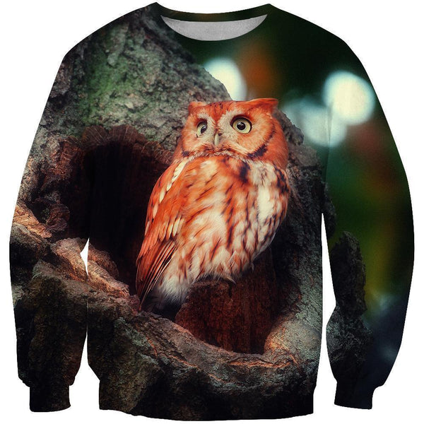 3D All Over Print Red Owl Shirts