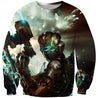 3D All Over Print dead space Hoodie