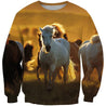 3D All Over Print More Horse Shirts