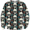 3D All Over Print The Skull Hoodie