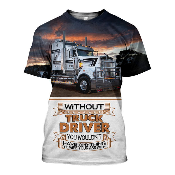 3D All Over Printed Truck Kenworth Shirts