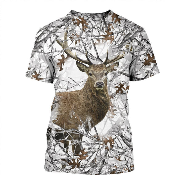 3D All Over Printed Camo Hunting Deer