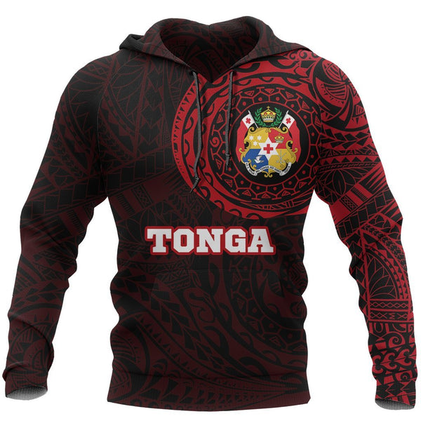 Tonga in My Heart Polynesian Tattoo Style New Hoodie New