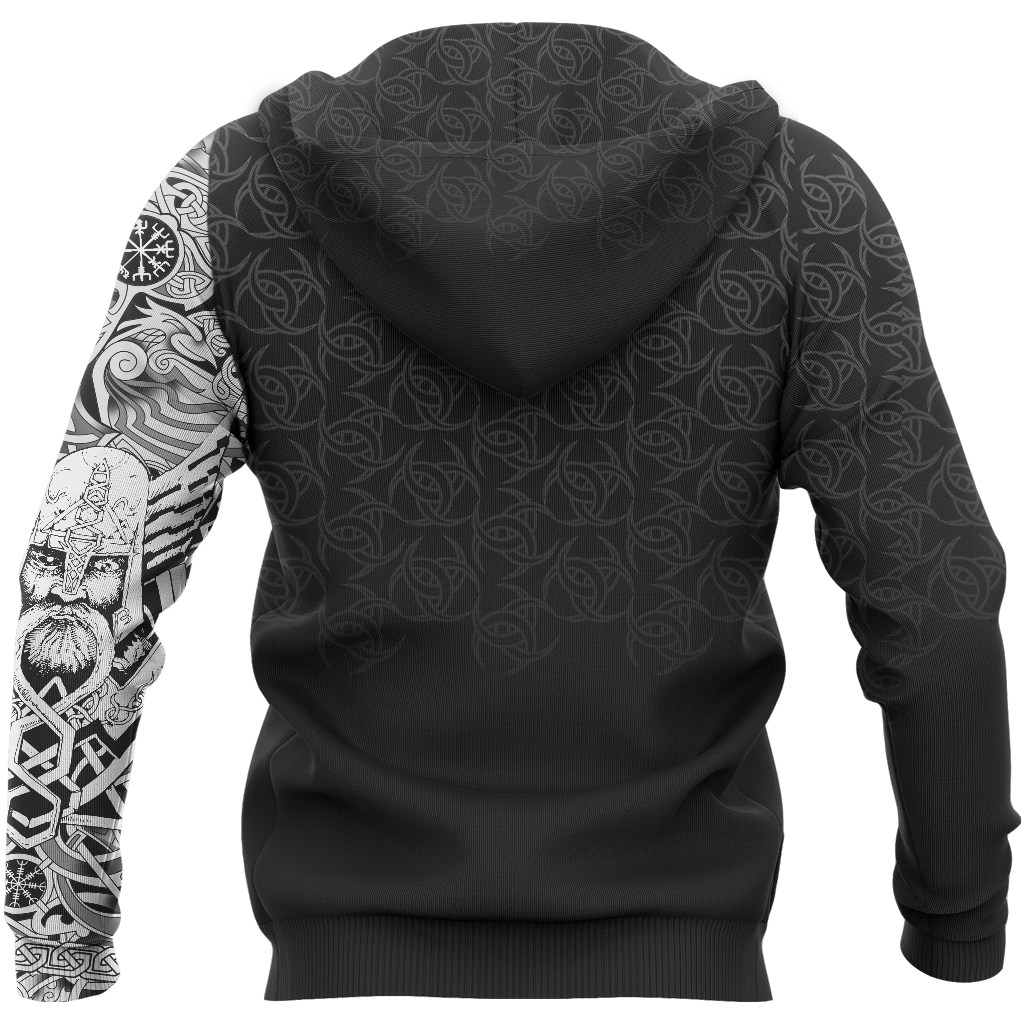 1db6fe24 Viking Odin Norse Valhalla - Best Viking Tattoo Hoodie