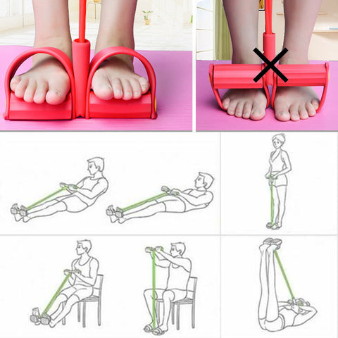 Home Gym Training Bands for Ab Workout