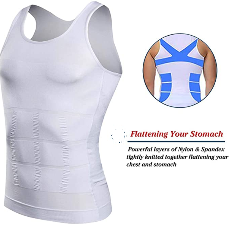 Men's Compression Tank Top Slimming Body Shaper