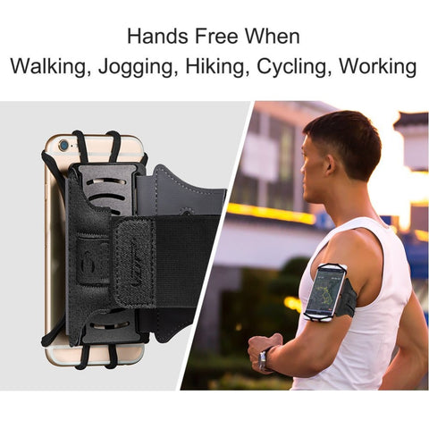 Running Wristband Cell Holder