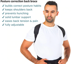 Posture Corrector Back Brace for Men & Women