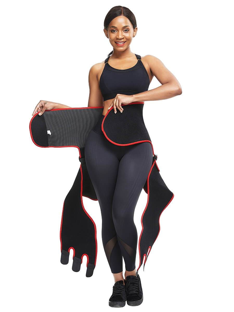 3 in 1 Sweat Waist Thigh Trimmer Booty Lifter