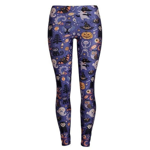 The Nightmare Before Christmas Cosplay Leggings