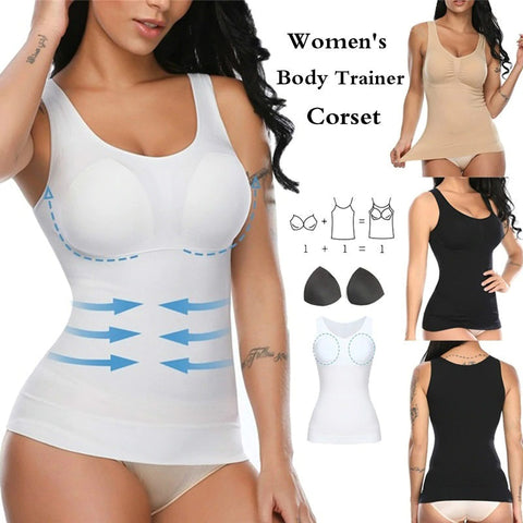 Tummy Control Shapewear Compression Tank Top for Women