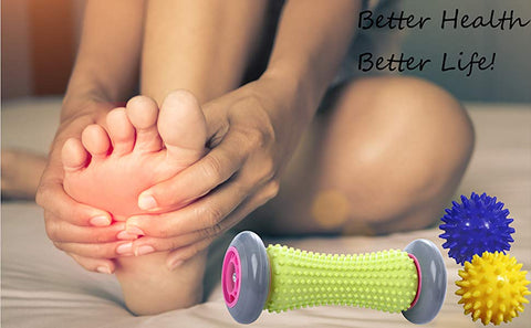 Massage Therapy, Foot Roller and Spiky Balls | Revolutionize Fitness