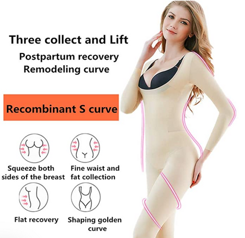 Long Sleeve Shapewear Bodysuit