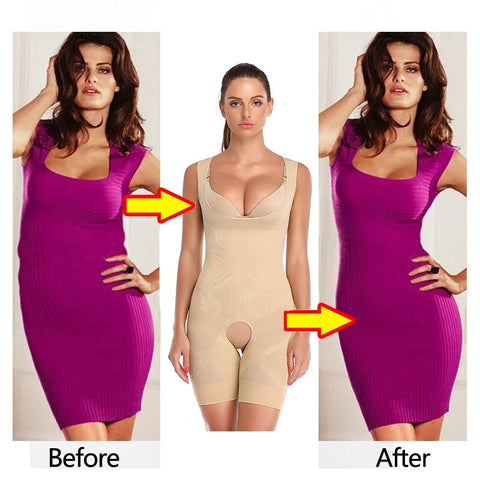 Women's Body Shaper Girdle Crotchless Bodysuit