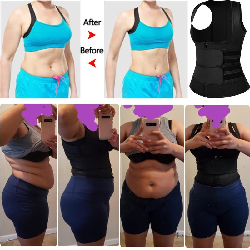 Neoprene Waist Trainer Vest for Sweating