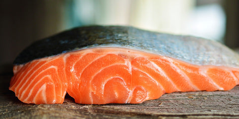 Salmon to build muscle