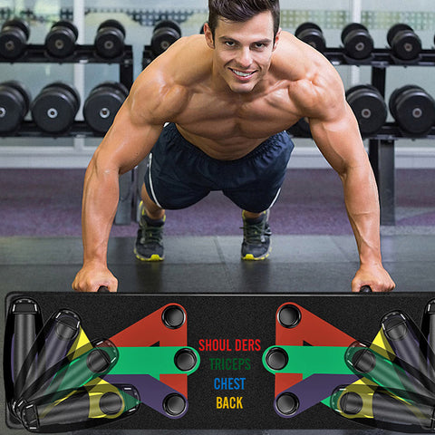 Chest Workout Plank Full System