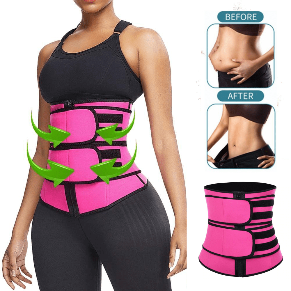 Neoprene Premium Waist Trainer Belt with Zipper