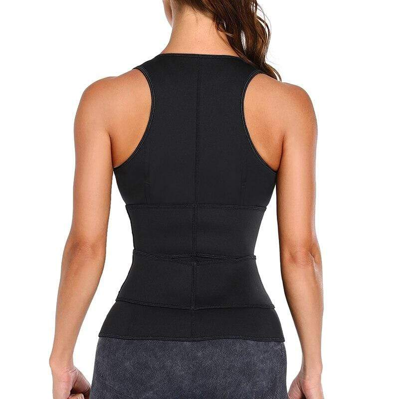 Clepssyfit Neoprene Sweat Waist Trimmer Vest - ClepssyFit