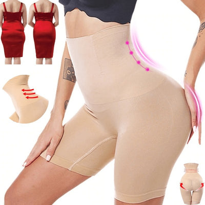 High Waist Tummy Shaper Shorts - ClepssyFit