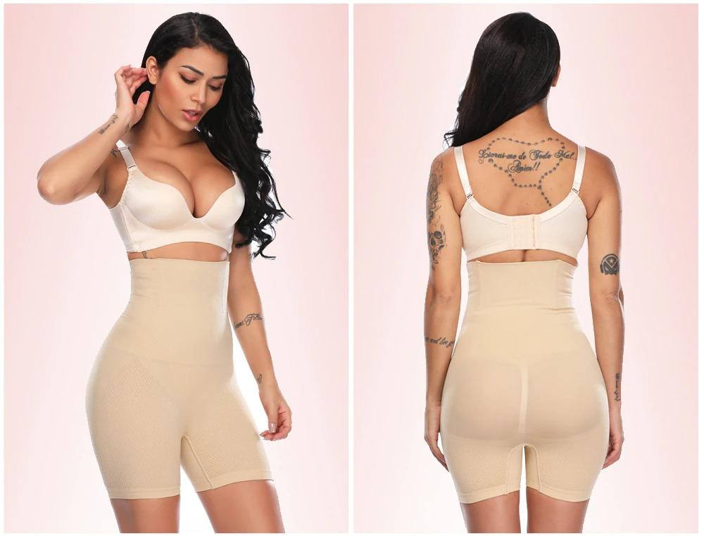 Tummy Control High Waist Shaper Pants - ClepssyFit