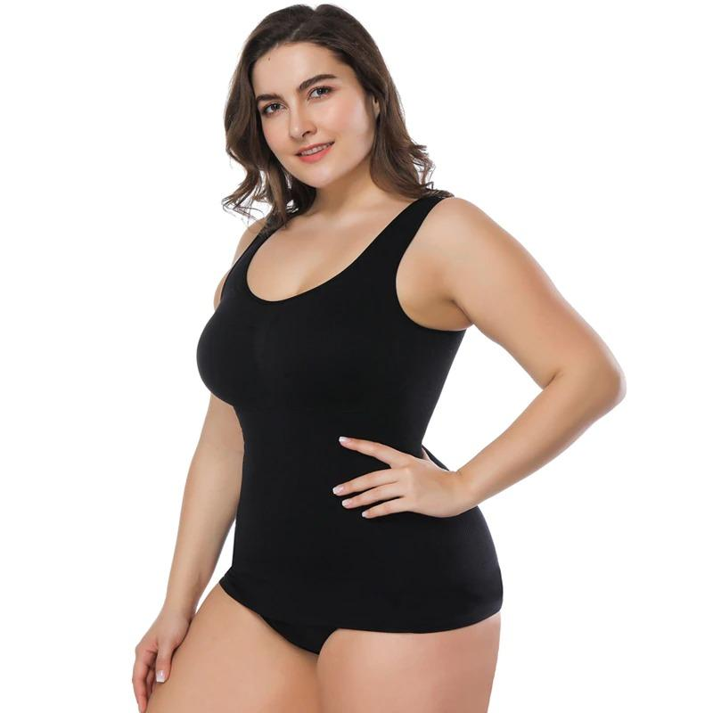 Tummy Control Shapewear Compression Tank Top for Women - ClepssyFit