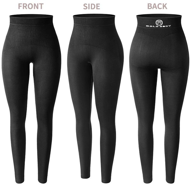 Women's Anti Cellulite Compression Leggings with Buttock Lifting Effect - ClepssyFit